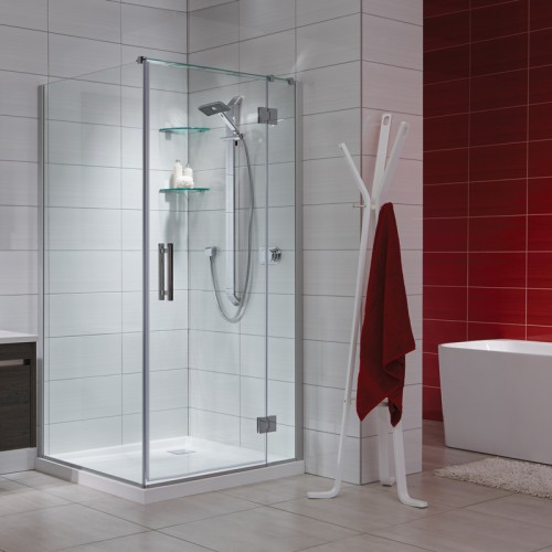 Allora 1000x1000 2 Wall Square Tiled Wall - RRP $2540