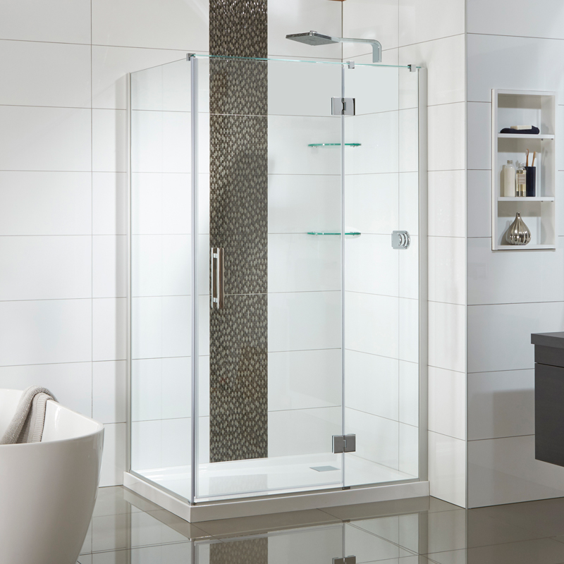 Allora 1200x900 2 Wall Rectangle Tiled Wall - RRP $2750