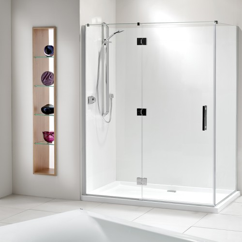 Lifestyle Acrylic Wall Shower Athena Bathrooms