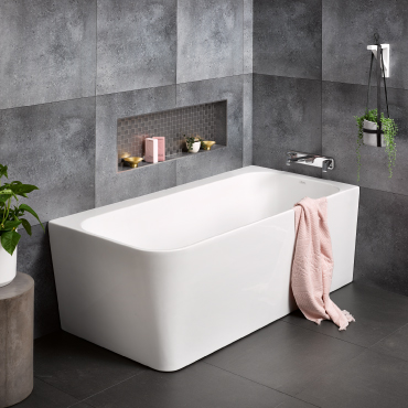 Contro Right Hand Corner Bath   RRP $2170