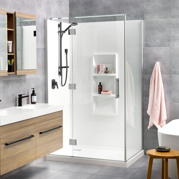 Soul Acrylic Wall Shower Athena Bathrooms