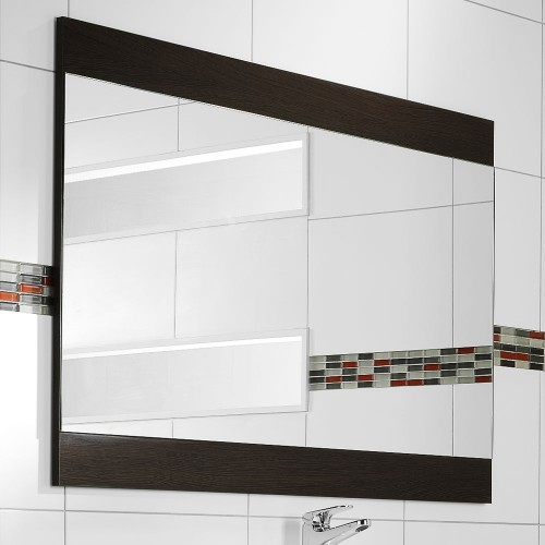 Soji Flat Mirror 1200 Durachique Wenge - RRP $590