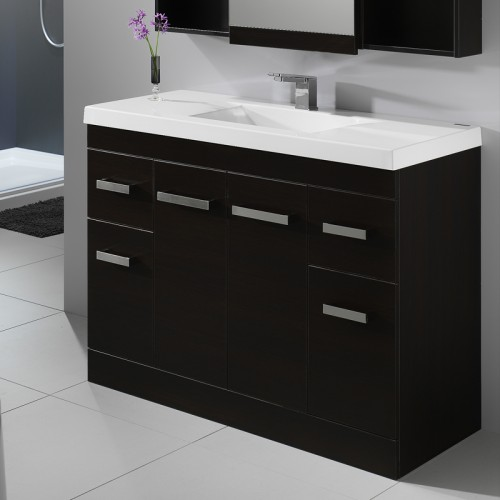 Wave Velaire 1200 Floor Dark Oak Sleek Handle - RRP $2160