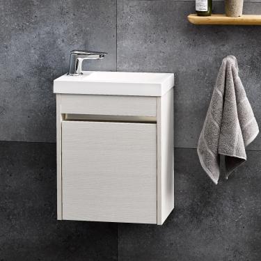 Mini Composite 400 Wall Alumino Durachique White Ash - RRP $850
