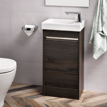 Mini Menuet 410 Floor Alumino Routeburn Oak - RRP $890