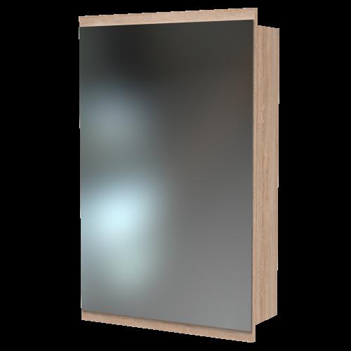 Soji 500 Mirror Cabinet Rural Oak