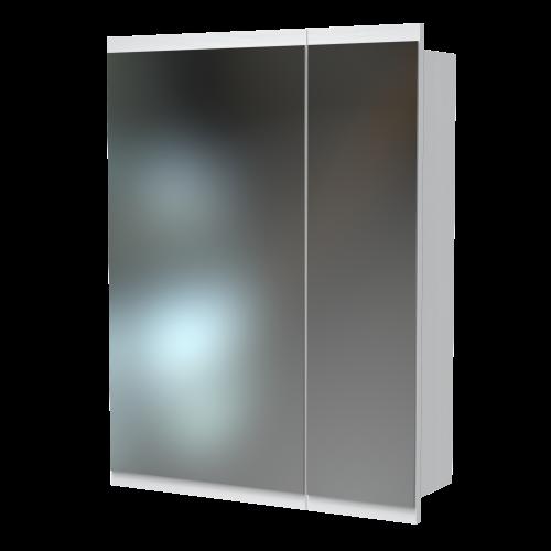 Soji 600 Mirror Cabinet Nordic Ash