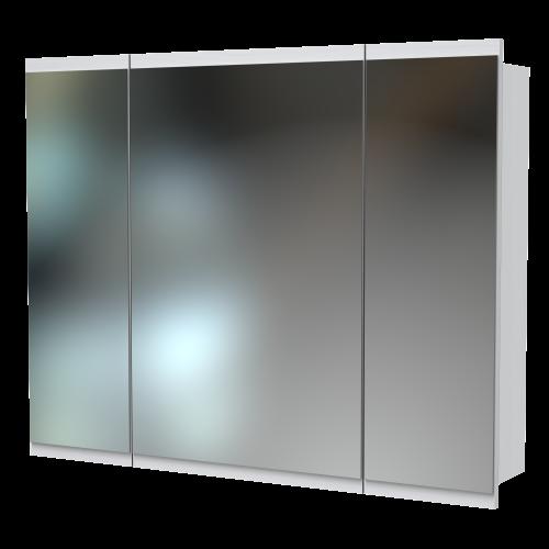 Soji 1000 Mirror Cabinet Nordic Ash